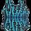 Thumbnail: L - Electric Blue Cool People Bodysuit