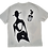 Thumbnail: The Cool People (Stamped) Painted Cotton T-Shirt
