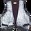 Thumbnail: Silver Ombre Painted Leather Vintage Vest