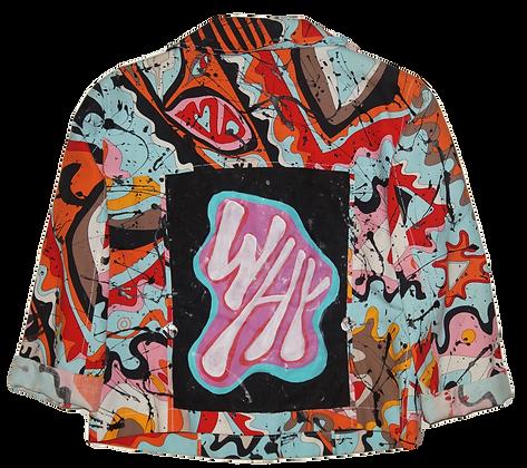 Why Painted Back & Splattered Vintage Pucci Lightweight Jacket