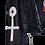 Thumbnail: Mercury Woman Painted Vintage Leather Jacket