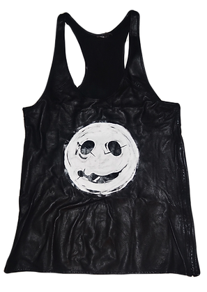 Smilie: The Cool People Leather Tank Top