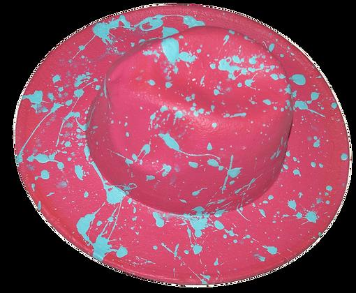Rock Candy Splattered Brim Hat