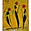 """Thumbnail: """"The Cool People - Flame"""" - Acrylic on loose canvas (8x11)"""