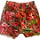 Thumbnail: S/26 - Atomic Apple painted High Waisted Cut Off Jean Shorts