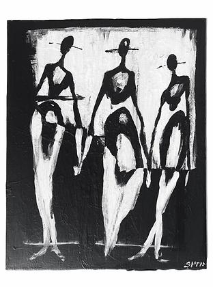 """One Trinity"" Canvas (16x20)"