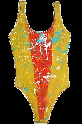 Painted Vintage Bodysuit