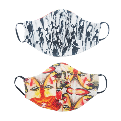 Reversible Mask (The Cool People X Psychedelic Woman)