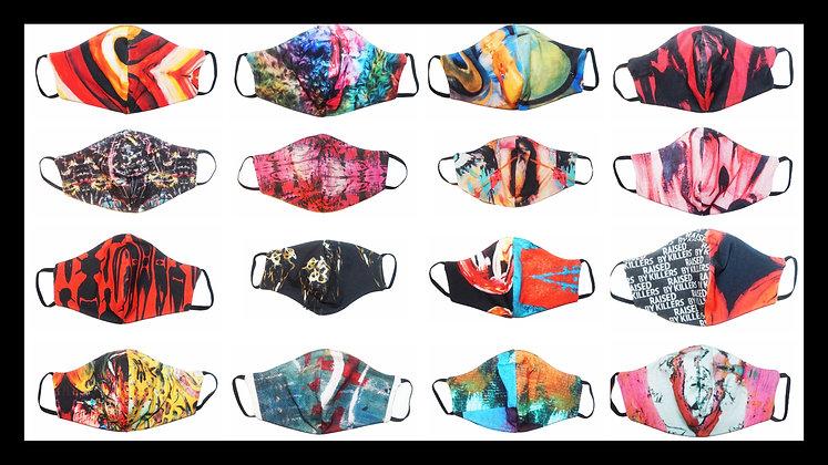 Unique Reversible Fabric Masks