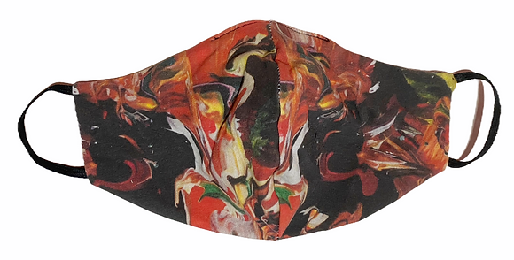 Durable Reversible Mask - Swirl
