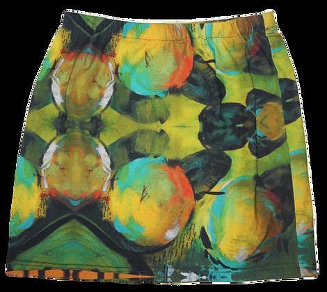 S - Chartreuse Conception Mini Skirt II