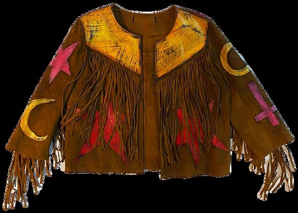 Fringe Star Power Painted Jacket