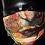 Thumbnail: Two Woven Masks (Internal Inferno)