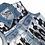 Thumbnail: S/M - The Cool People Painted Denim Vest