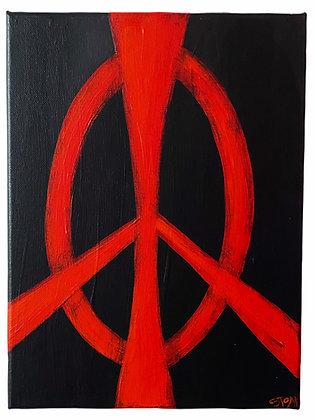 """""""Broken Peace"""" Canvas (9X12)"""