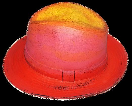 Spiked Pink Lemonade Brim Hat