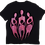 Thumbnail: The Cool People (Planetary Pink) Painted Cotton T-Shirt