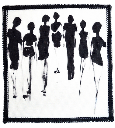 The Cool People Textile Patch