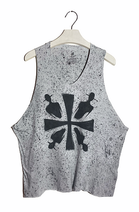L - Signs of the Cross Painted & Cut Tank
