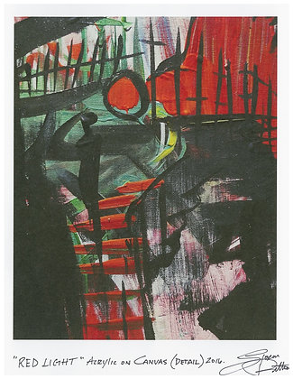 Print: Red Light