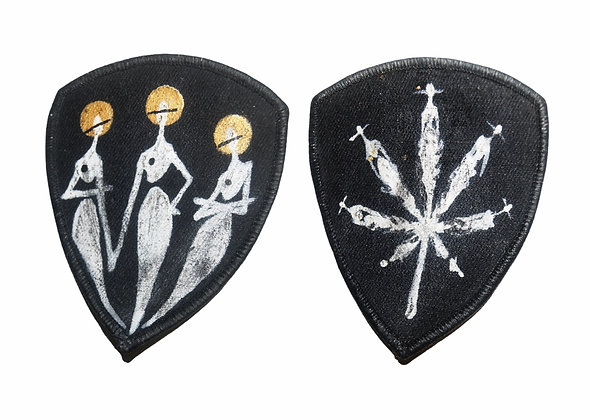 Painted Patches Pair - The Cool x Pot People II