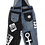 Thumbnail: S - The Cool People Playing Cards Denim Overalls