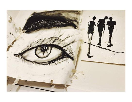 Print: Studio Wall (Sketchbook)