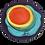 Thumbnail: Technicolor Splat Painted Vintage Hat