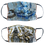 Thumbnail: Reversible Woven Mask - Blue Vintage Inspired