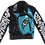 Thumbnail: Eye Of The Beholder Painted Leather Jacket