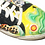 Thumbnail: Lemon Lime Painted Leather Sneakers