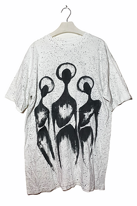 XL Long - Double Sided Cool Painted Tee