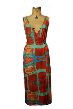 Another Brick In The Wall Wrap Dress (Custom Order)