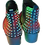 Thumbnail: Rasta Rainbow Painted Leather Boots