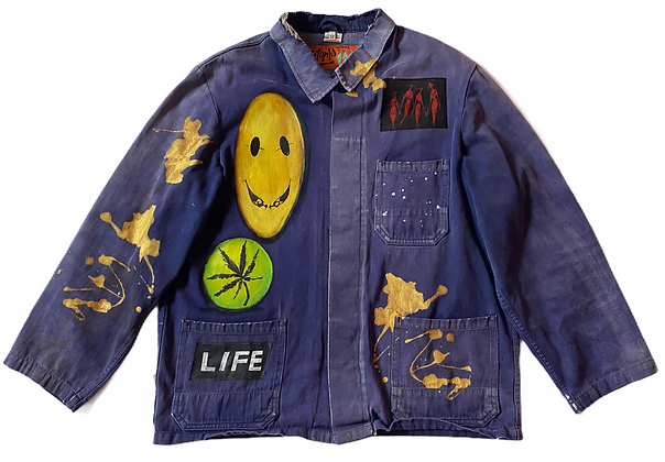 Artist Painted Smock (Vibrate Life)