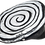 Thumbnail: Monochrome Spiral Painted Military Cap