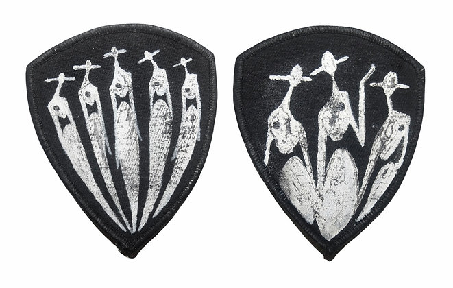 Painted Patches Pair - The Cool People II