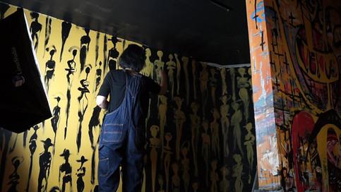 Stairway Mural - Graey Studio - Feb. 28t