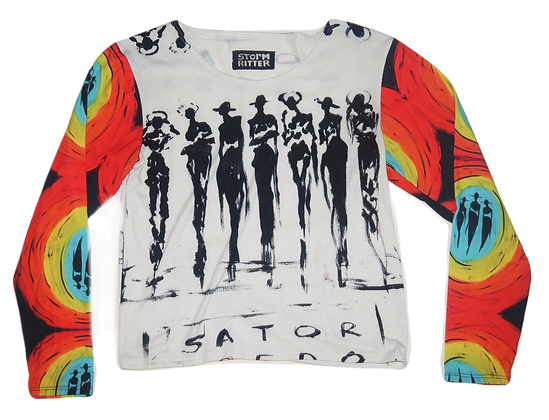 The Cool People x Technicolor Synchronicity Long Sleeve Top