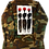 Thumbnail: Cool People Card Painted Vintage Camo Jacket
