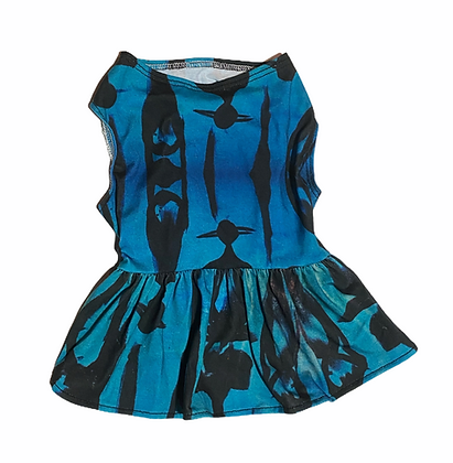 Cat Dress (The Cool People, Blue)