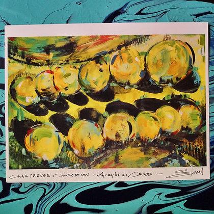 Print: Chartreuse Conception