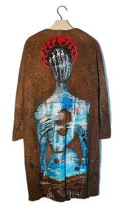 Cool Relic Painted Suede Jacket
