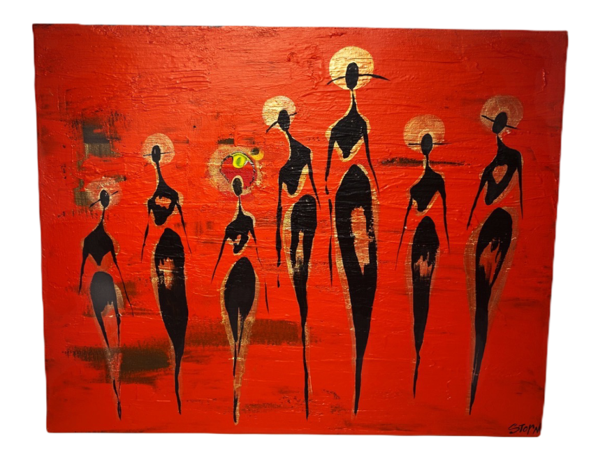 Party of Nine (2019) - Sold