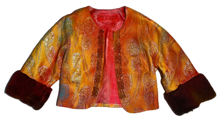 S - Psychedelic Bolero Jacket