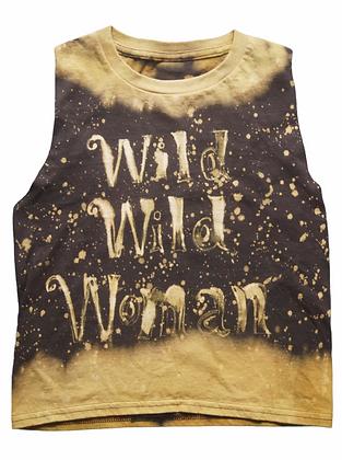 S - Bleached Rock Tank - Wild Wild Woman