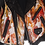 Thumbnail: Inferno Painted Vintage Leather Jacket