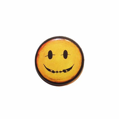 """Smile - The Cool People"" Pin (1"")"
