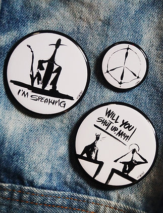 Cool People Politics Pin Pack