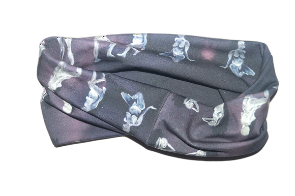 Purple Aura Head Wrap